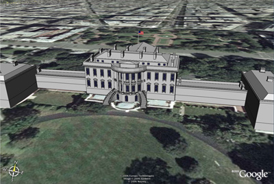 SketchUp White House