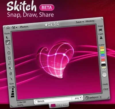 Skitch Splash Screen