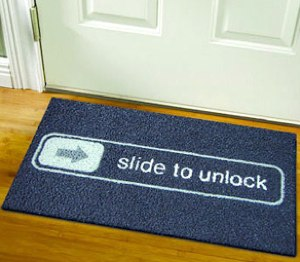 slidetounlockdoormat