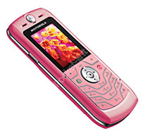 Pink Motorola SLVR
