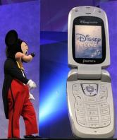 Mickey and Phone