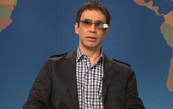 Google Glass SNL skit