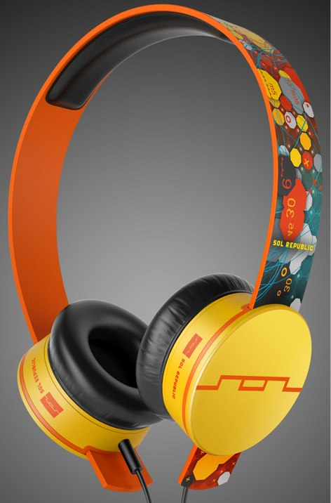 SOL REPUBLIC deadmau5 tracks hd headphones