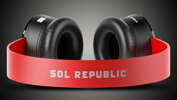 sol republic tracks headphones red