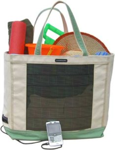 Solar Beach Tote