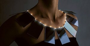 solar LED necklace