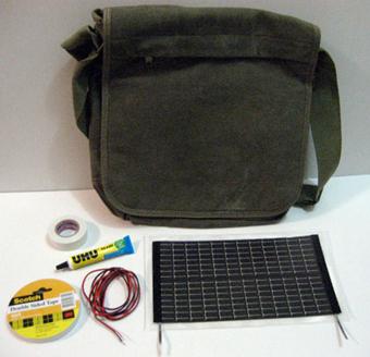 DIY Solar Bag
