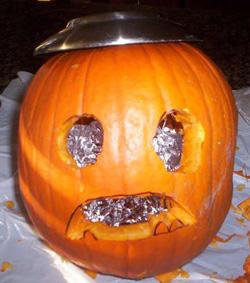 Solar Pumpkin