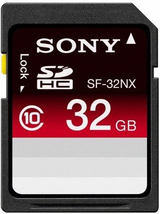Sony SDHC 32gb class 10