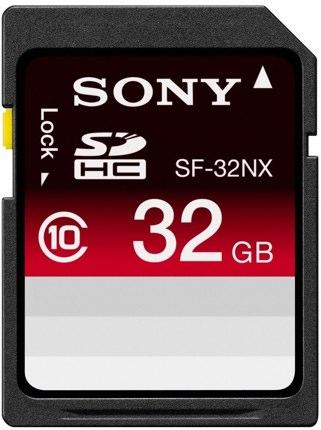 Sony SDHC 32gb class 10