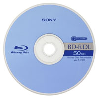Sony 50GB Blu-ray Discs