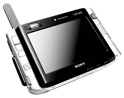 Sony VAIO UX Micro Closed