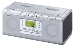 Sony Dual Cassette Recorder