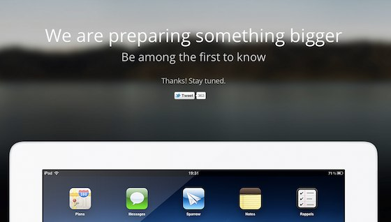 Sparrow for iPad