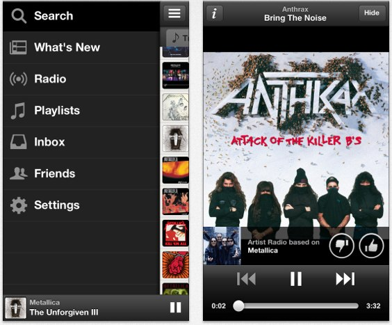 Spotify ios 0.6.0