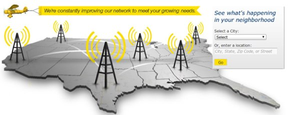 Sprint LTE cities