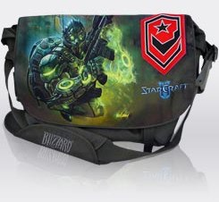 Starcraft Ghost messenger bag