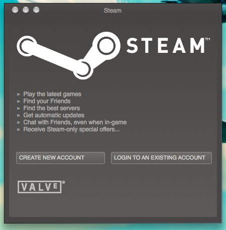 Steam for Mac Valve