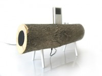 Log iPod Dock