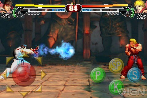 Street Fighter 4 iPhone iPod touch
