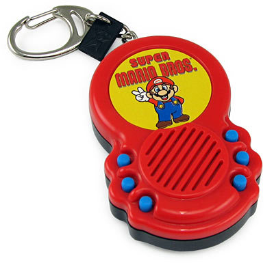 Mario Sound FX Keychain
