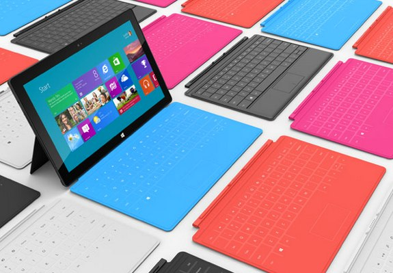 Touch Covers for Microsoft Surface is sleek and incredible unlike traditional Keyboards
