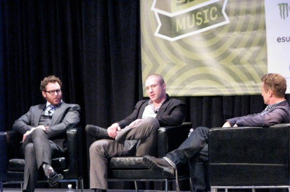 SXSW 2012 Downloaded Sean Parker Shawn Fanning