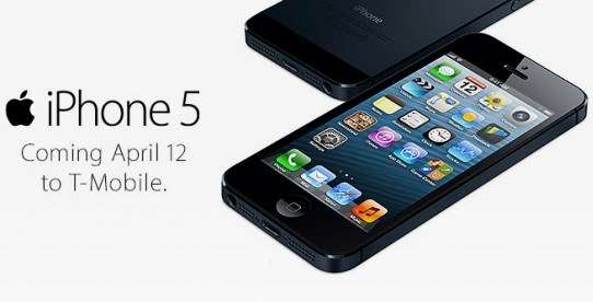 T-Mobile free iPhone 5