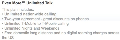 T-Mobile Unlimited Talk