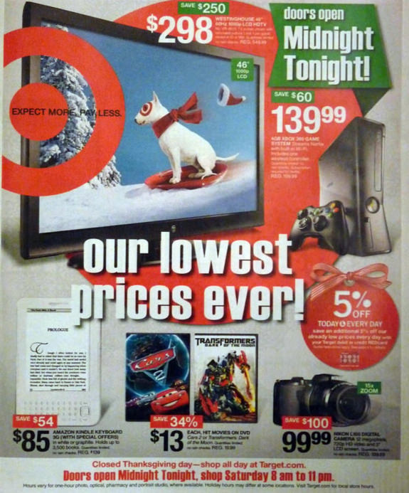 Target Black Friday 2011