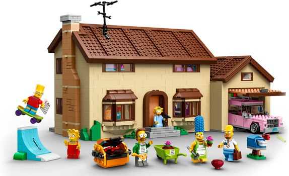 The Simpsons House 71006 lego