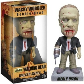 Merle Zombie bobble head