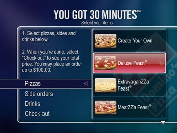 TiVo Menu