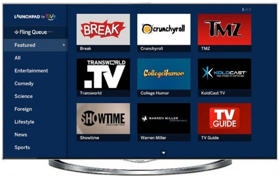 TiVo Flingo Launchpad