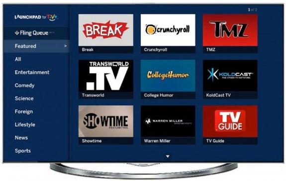 TiVo Flingo Launchpad