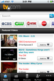 TV.com Screen shot