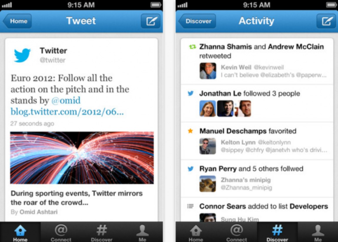Twitter for iPhone 4.3
