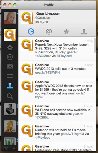 Twitter for Mac 2.2