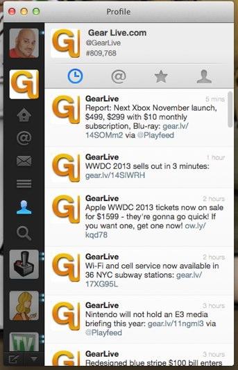 Twitter for Mac 2.2