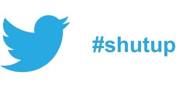 Twitter mute button