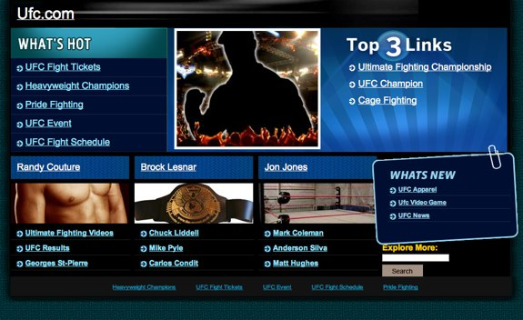 UFC Anonymous SOPA
