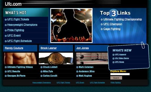 UFC Anonymous SOPA