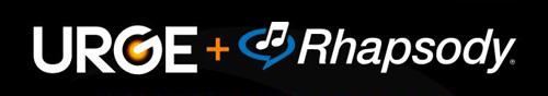 Urge/Rhapsody logos