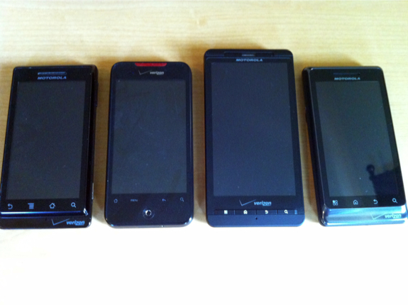 Verizon Droid Smartphones