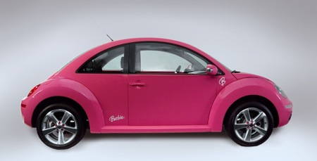 VW Beetle Barbie