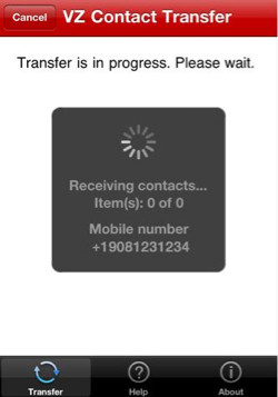 transfer contacts iphone 4 verizon