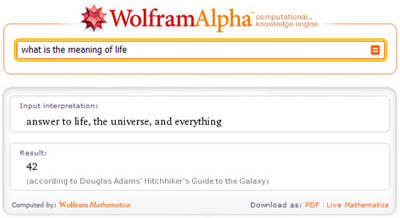 Wolfram/Alpha