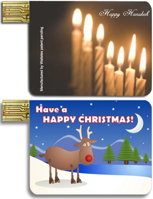 Walletex Holiday Cards