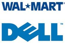 Dell/Wal-mart logos