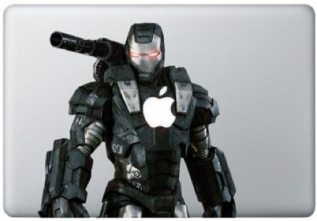 War Machine Macbook Decal